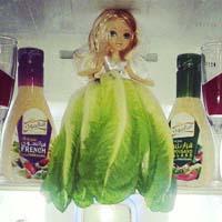 تزیین یخچال عروس | مدل تزیین داخل یخچال عروس