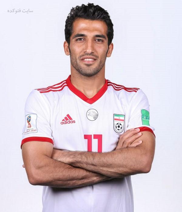 بازیکنان تیم ملی فوتبال در جام جهانی 2018