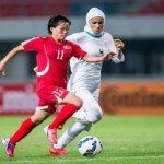 تحقیر تاریخی تیم فوتبال زنان ایران,باخت سنگین تیم ملی فوتبال زنان ایرانی در بازی های اسیایی,آبروریزی تیم ملی فوتبال زنان در بازی های آسیای,عکس فوتبال زنان
