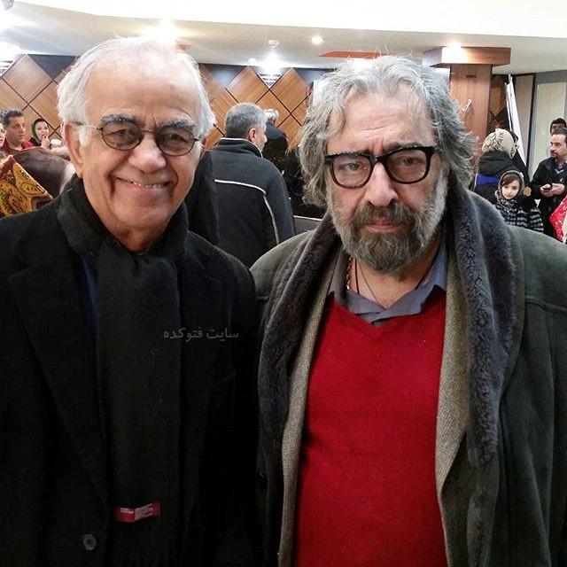عکس های ابوالحسن تهامی نژاد و مسعود کیمیایی