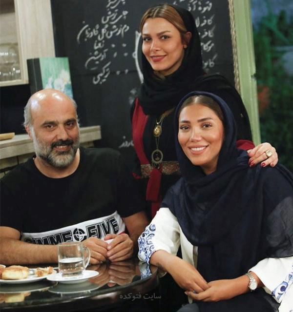 عکس تیما پور رحمانی - عاطفه جلالی وسعيد داخ