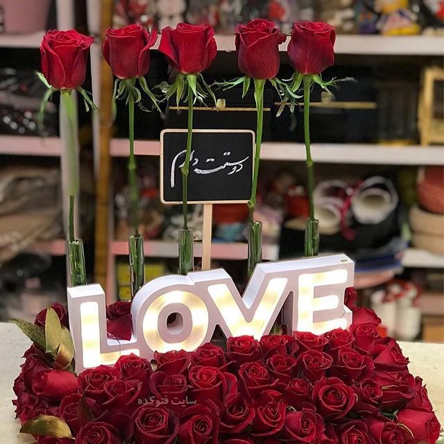 متن تبریک تولد عاشقانه طولانی با عکس نوشته