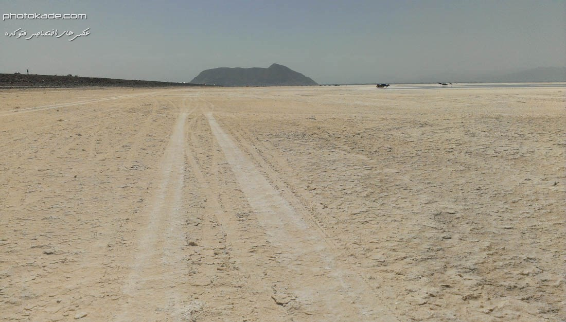 عکس نمکزار دریاچه ارومیه ,عکسهای شوره زاره دریاچه ارومیه, کویر ارومیه 1393, ارومیه 93