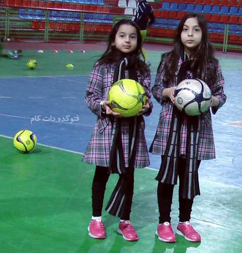 دختران دوقلو وحید شمسایی