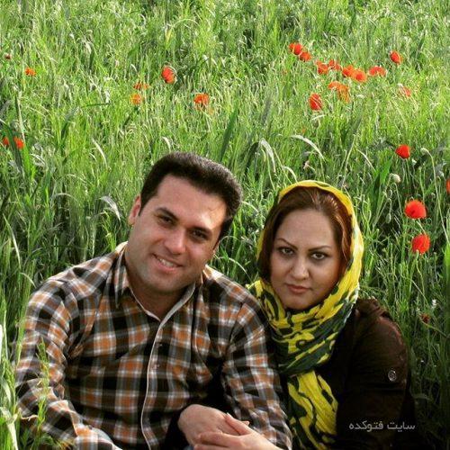 وحید تاج و همسرش زینب