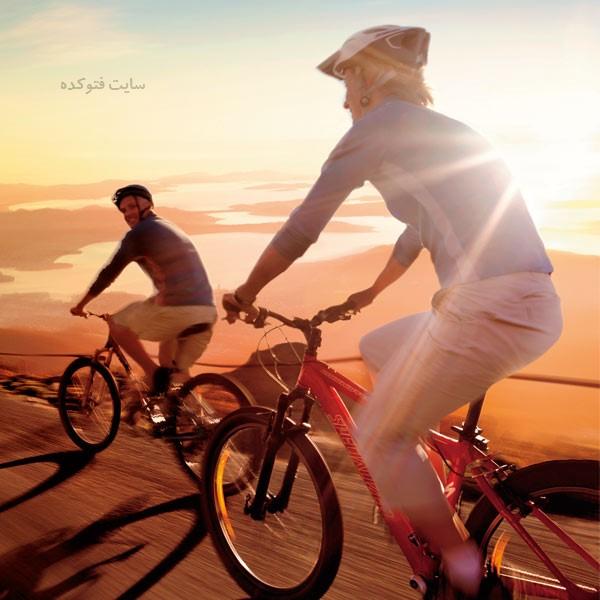 دوچرخه سواری بهترین ورزش برای لاغری