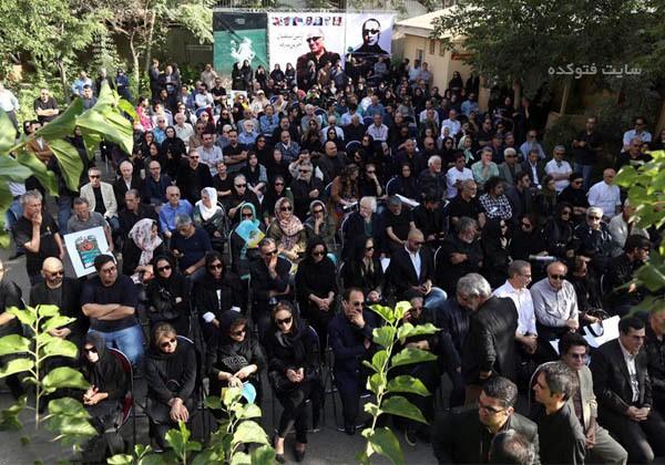 عکس مراسم تشییع جنازه عباس کیارستمی