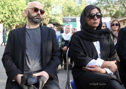 عکس بازیگران در مراسم تشییع جنازه عباس کیارستمی