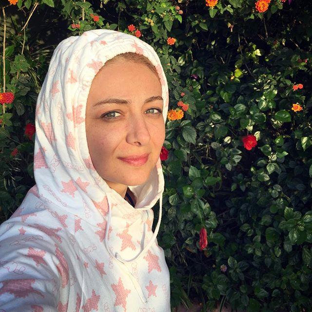 عکس ویدا جوان بازیگر خوشگل و چشم آبی ایرانی