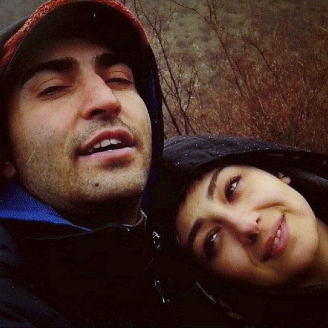 عکس ویدا جوان و همسرش آیلا تهرانی
