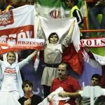 عکس تماشاگران والیبال ایران لهستان