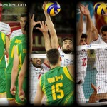 عکس بازی والیبال ایران و استرالیا
