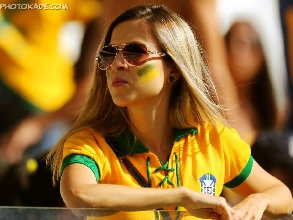 عکس های جدید تماشاگرن جام جهانی ,جام جهانی 2014,گالری عکس تماشاگران زن جام جهانی 2014