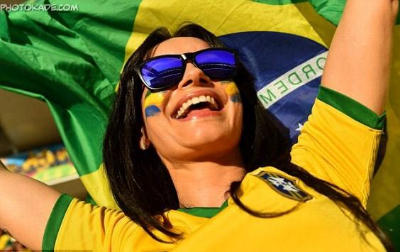 سوپر عکس های جام جهانی 2014 برزیل,سوپر عکس زن جام جهانی 2014 برزیل