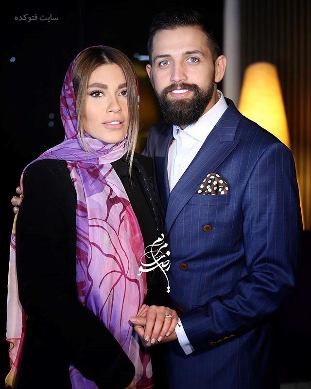 محسن افشانی و همسرش سویل تیانی خیابانی