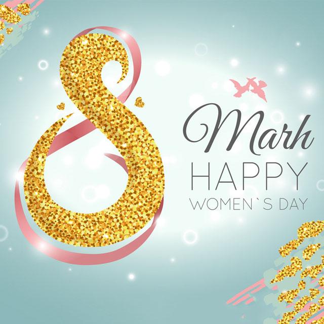متن تبریک روز جهانی زن 8 مارس با عکس نوشته