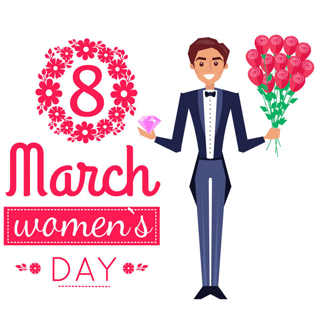متن تبریک روز جهانی زن با عکس نوشته پروفایل