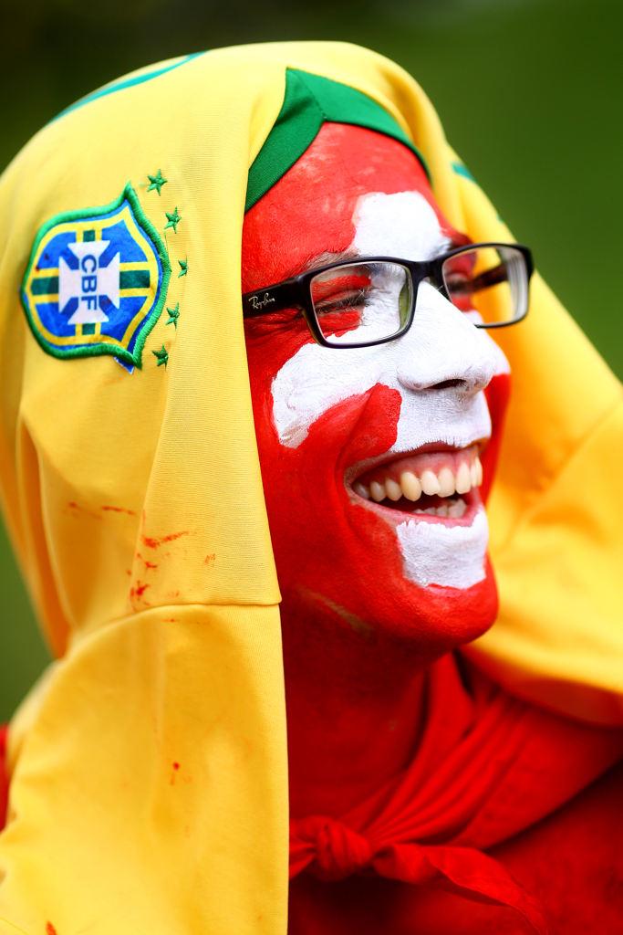 عکس های جالب تماشاگران 2014 برزیل جدید