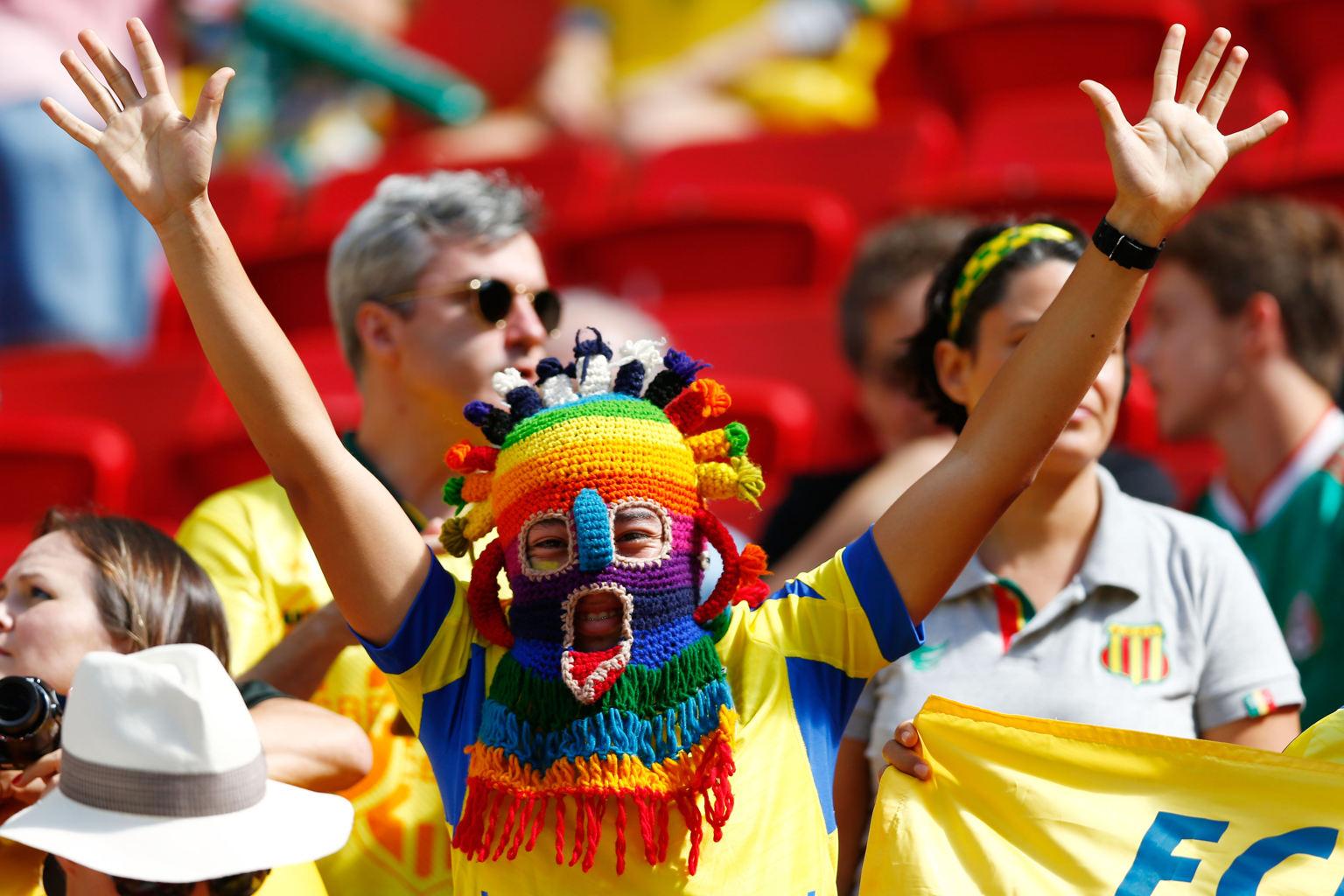 عکس های با حال و جالب جام جهانی 2014,عکس های خنده دار تماشاگران جام جهانی 2014,عکس های جام جهانی 2014 برزیل