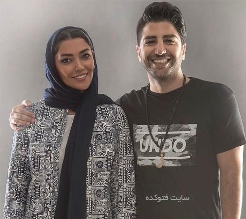 عکس زانیار خسروی و همسرش ارنیکا صادقی