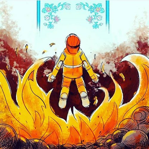 تسلیت آتش نشان