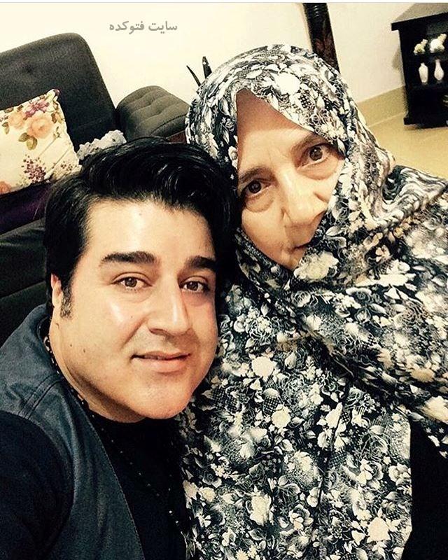 عکس مهدی یغمایی و مادرش + بیوگرافی