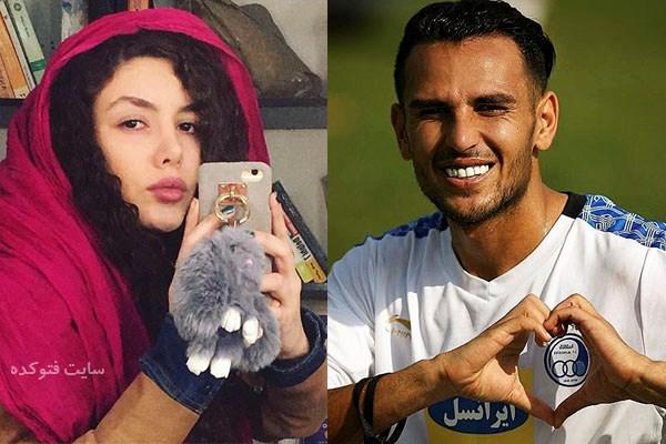 عکس یعقوب کریمی و همسرش نیکی محرابی + ازدواج و بیوگرافی