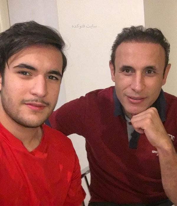 عکس های یحیی گل محمدی و پسرش امیرحسین