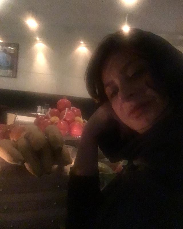 سیما تیرانداز در شب یلدا