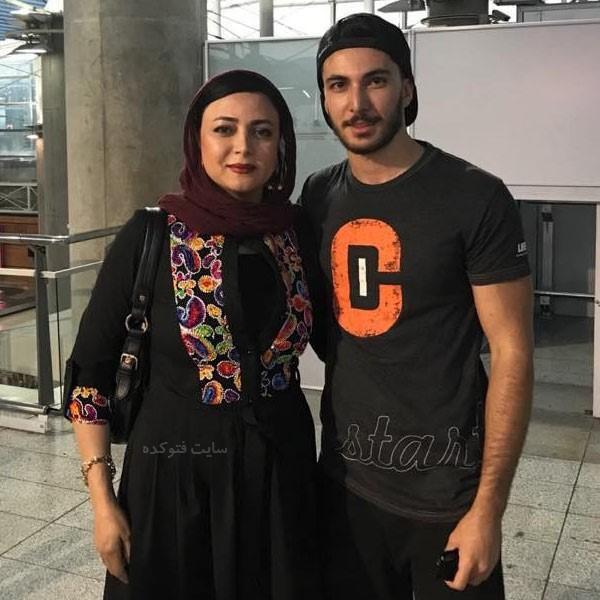 یلدا قشقایی و پسرش + بیوگرافی و زندگی شخصی