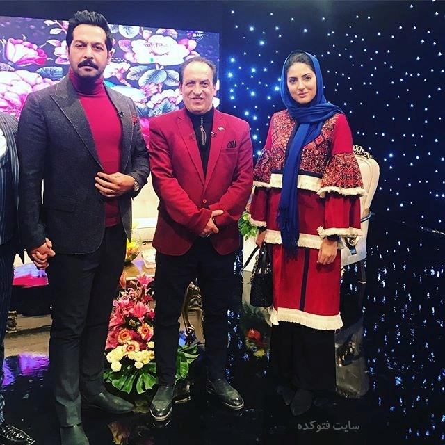 عکس هلیا امامی - کامران تفتی و بهمن هاشمی شب یلدای 96