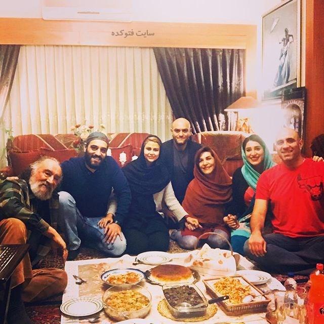 عکس خانوادگی ارجمندی ها شب یلدای 96