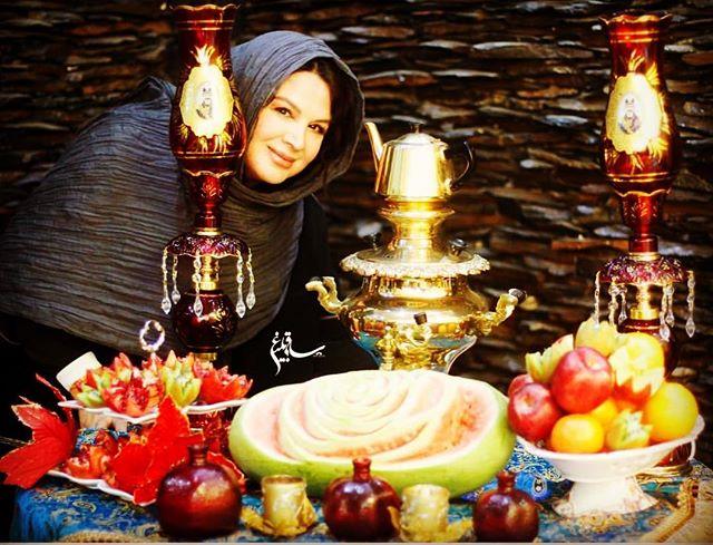 عکس شهره سلطانی شب یلدای 96