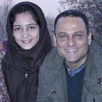 بیوگرافی حسین یاری و همسرش + عکس خانوادگی