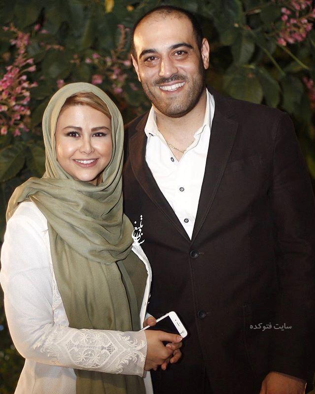 عکس و بیوگرافی یاسمینا باهر و همسرش امیریل ارجمند