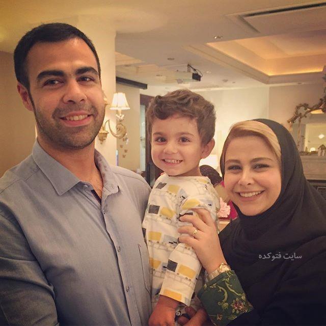 عکس یاسمینا باهر و برادر و برادرزادش + بیوگرافی