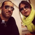 عکس های یاسمینا باهر و همسرش