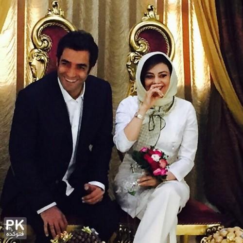 عکس ازدواج یکتا ناصر بازیگر با منوچهر هادی