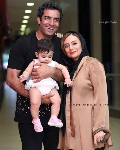 عکس یکتا ناصر و همسرش + دخترش سوفیا با بیوگرافی کامل