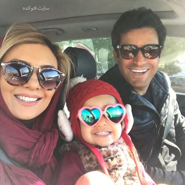 Yekta Naser در کنار خانواده
