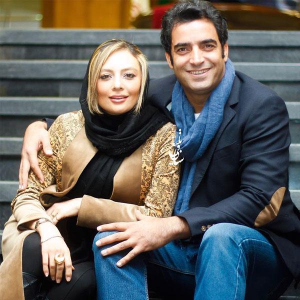 عکس های یکتا ناصر بازیگر در کنار شوهرش