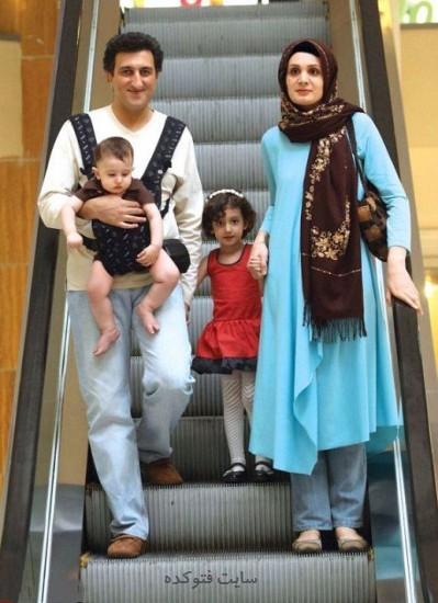 عکس یوسف صیادی و همسرش مریم فلاح + فرزندان