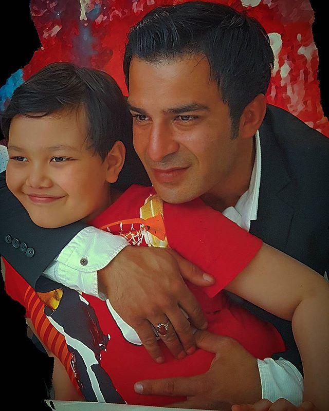 عکس یوسف تیموری و پسرش آرمین + بیوگرافی و زندگی شخصی