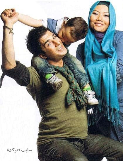 عکس یوسف تیموری و همسرش + عکس خانوادگی + بیوگرافی کامل