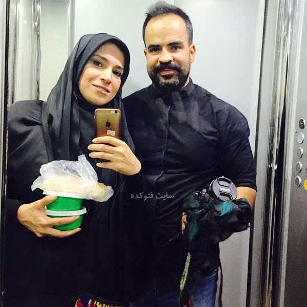 همسر زهرا چخماقی خبرنگار کیست