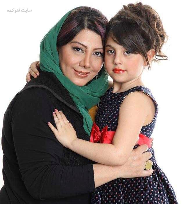 عکس زهرا داوودنژاد و دخترش یلدا + بیوگرافی