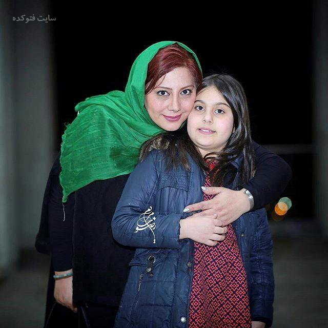 عکس زهرا داوودنژاد و دخترش یلدا
