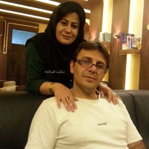 زهرا کلاته ترانه و همسرش سعید + زندگینامه