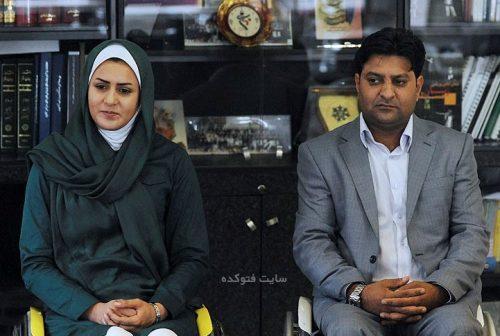 عکس زهرا نعمتی و همسرش رهام شهابی پور