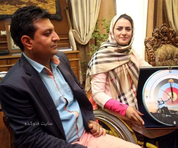 عکس همسر زهرا نعمتی , عمس همسر رهام شهابی پور